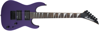 Jackson JS Series Dinky Minion JS1X Electric Guitar AM Pavo Purple - Front