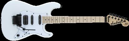 Jackson X Series Adrian Smith SDX-MN FB Electric Guitar Snow White - Front