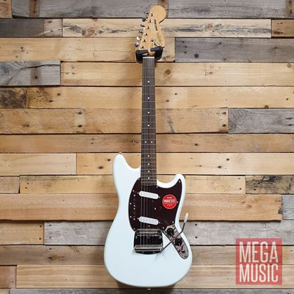 Squier Classic Vibe 60s Mustang Electric Guitar LRL Sonic Blue Front