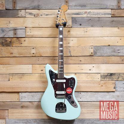 Squier Classic Vibe 70s Jaguar Electric Guitar LRL Surf Green Front