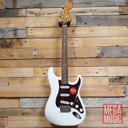 Squier Classic Vibe 70s Stratocaster Electric Guitar LRL Olympic White Front