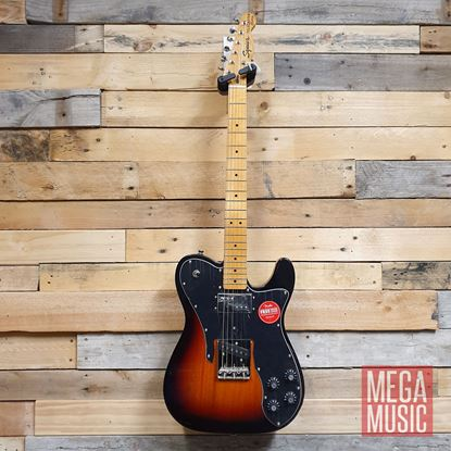 Squier Classic Vibe 70s Telecaster Custom Electric Guitar MN 3-Colour Sunburst Front