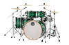 MAPEX Armory 6-Piece Shell Pack Drum Kit with 22 inch Kick - Emerald Green - Right