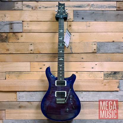 PRS Custom 24-08 Electric Guitar in Violet Blue Burst Front