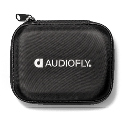 Audiofly AF120 MK2 Universal In-Ear Monitor - Silver 1  - Case