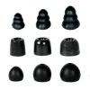 Audiofly AF180 MK2 Universal In-Ear Monitor - Black - Ear Tips
