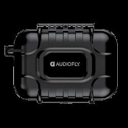 Audiofly AF180 MK2 Universal In-Ear Monitor - Black - Case
