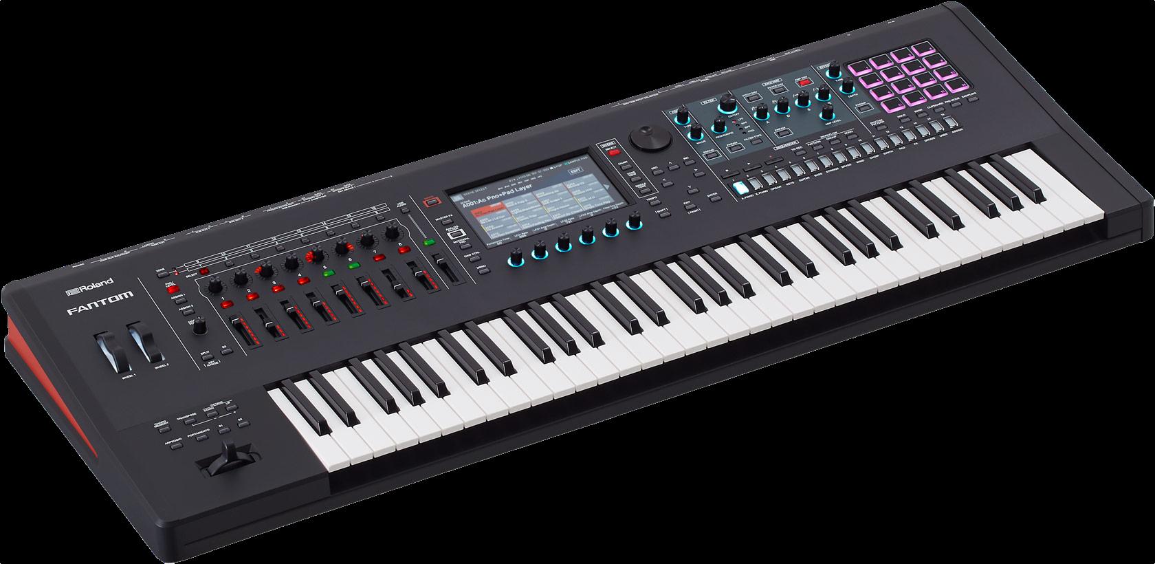 Roland FANTOM-6 Synth Workstation Keyboard - Left