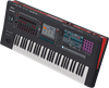 Roland FANTOM-6 Synth Workstation Keyboard - Top Angle
