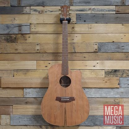 Cole Clark Fat Lady 2 Acoustic Guitar - Redwood Blackwood Front