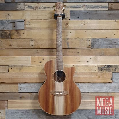 Cole Clark Angel 2 Acoustic Guitar - All Blackwood Front