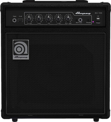 Ampeg BA-108V2 8in Bass Amplifier Combo - Front