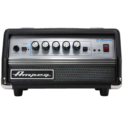 Ampeg Micro VR Head Solid State Bass Head - 200 Watt - Front