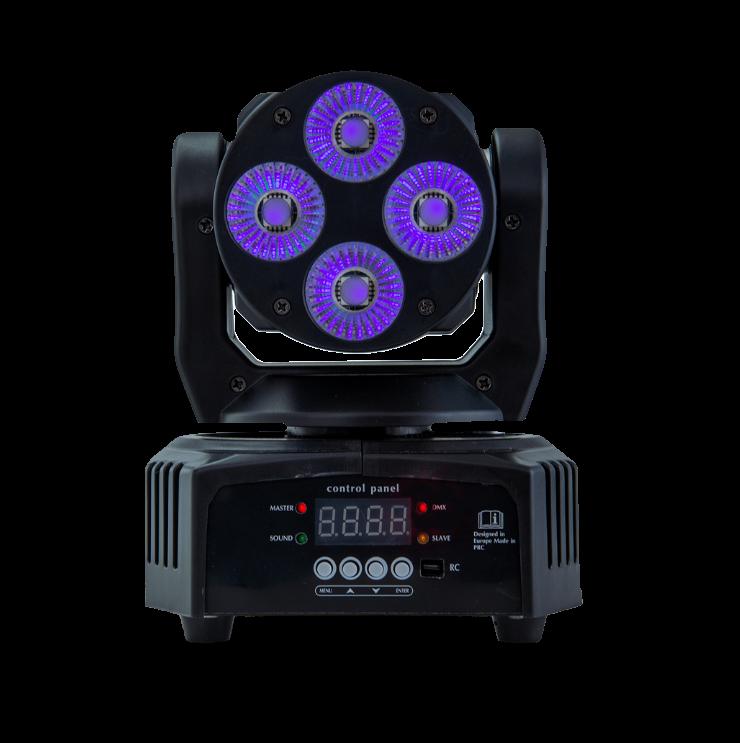 AVE Cobra Wash 100 LED Moving Head Wash - Front