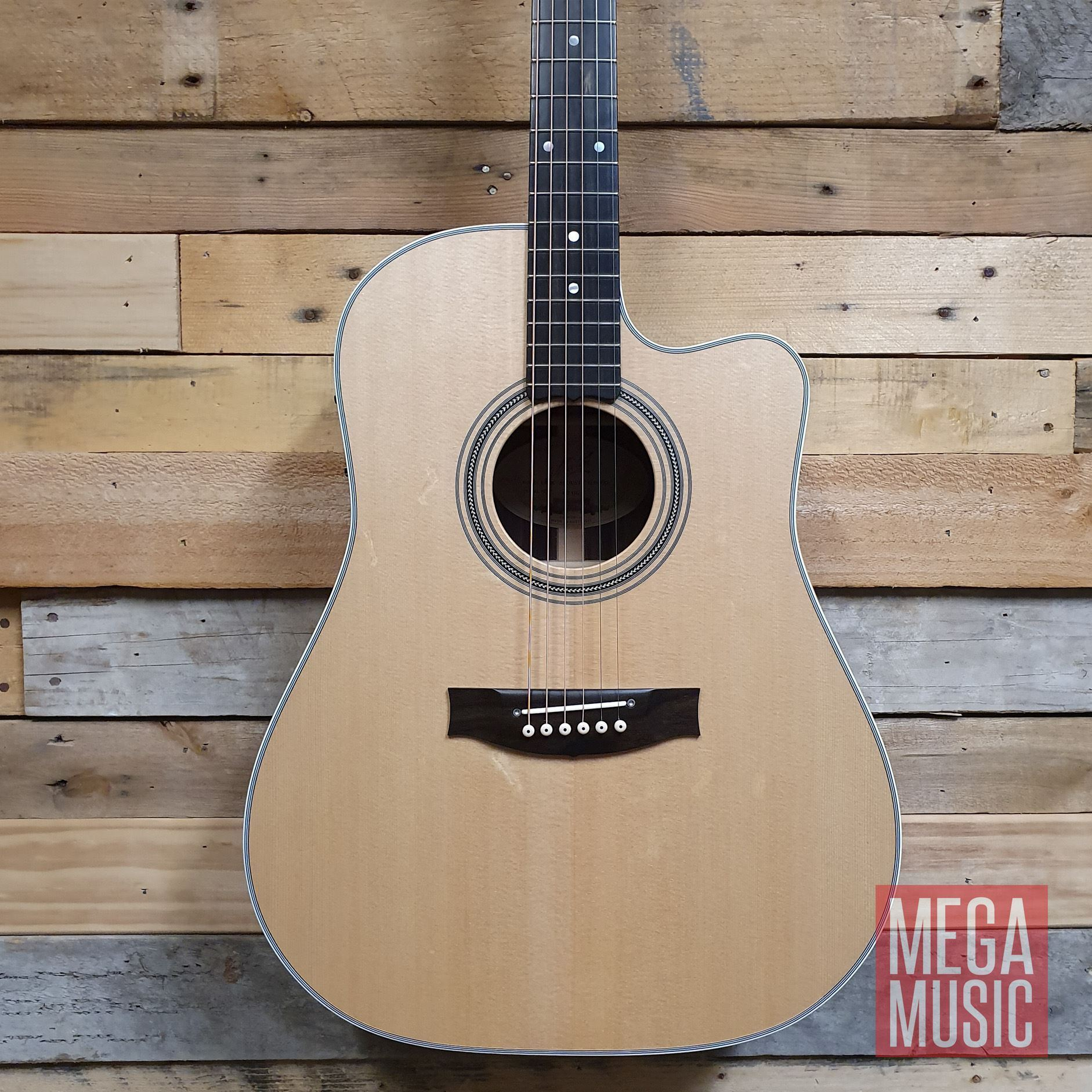 Maton ER90c Acoustic Guitar Front Body w/o Pickguard