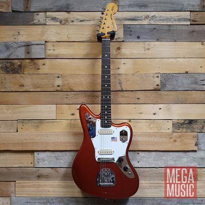 Fender Johnny Marr Signature Jaguar Electric Guitar - Rosewood Fretboard - Metallic KO Front