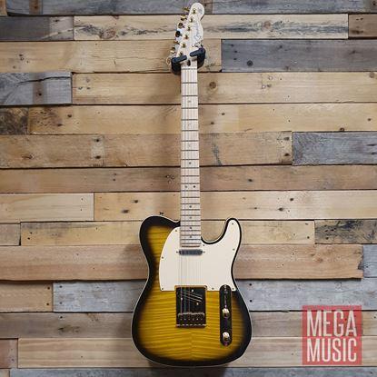Fender Richie Kotzen Signature Telecaster Electric Guitar - Maple Neck - Brown Sunburst - Front