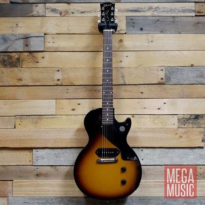 Gibson Les Paul Junior Electric Guitar - Vintage Tobacco Burst - Front