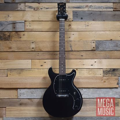 Gibson Les Paul Special Tribute Double Cut Electric Guitar - Worn Ebony - Front