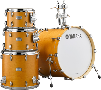 Yamaha TC20 Tour Custom 20in Fusion Drum Kit with HW780 Hardware in Caramel Satin