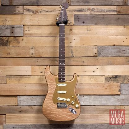 Fender 2019 Rarities Collection Quilt Maple Top Stratocaster Natural - Front