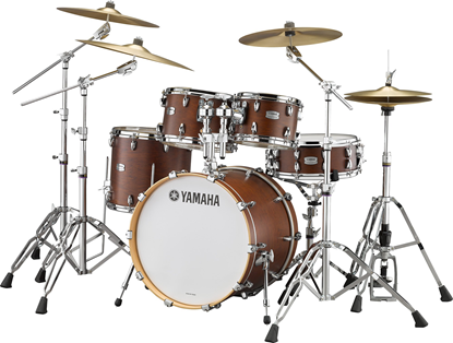 Yamaha TC22 Tour Custom 22in Euro Drum Kit with HW780 Hardware in Chocolate Satin