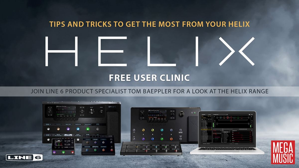 Line 6 Helix User Clinic