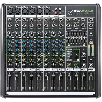 Mackie ProFX12 V2 12-channel Professional Effects Mixer with USB (ProFX12v2)