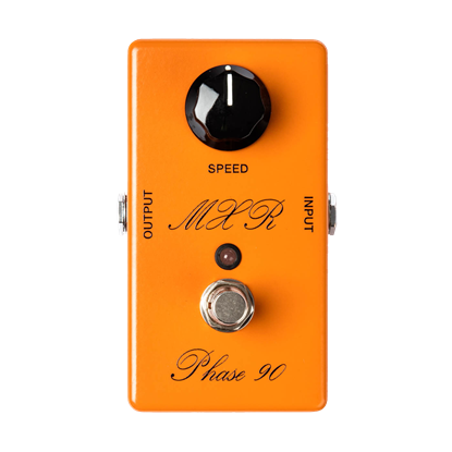 MXR CSP101SL Custom Shop - Script Phase 90 with LED Effects Pedal - Front
