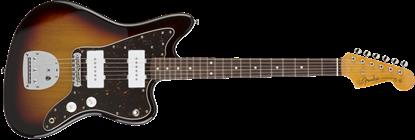 Fender Japan Exclusive Classic 60s Jazzmaster - Rosewood Fretboard - Electric Guitar 3-Tone Sunburst - Front