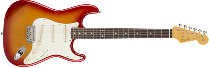 Fender Japan Exclusive Classic 60s Stratocaster - Rosewood Fretboard - Electric Guitar Cherry Burst - Front