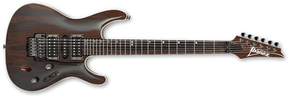 Ibanez S970WRW NT Premium Electric Guitar Natural - Front