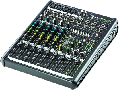 Mackie ProFX8 V2 8-channel Professional Effects Mixer with USB - Angle
