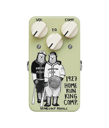 Animal Pedals 1927 Homerun King Compressor Guitar Effects Pedal  - Front