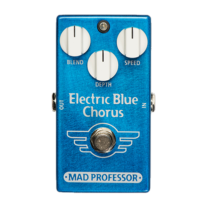 Mad Professor Electric Blue Chorus Guitar Effects Pedal - Front