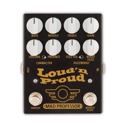 Mad Professor Loud 'n' Proud Guitar Effects Pedal - Front