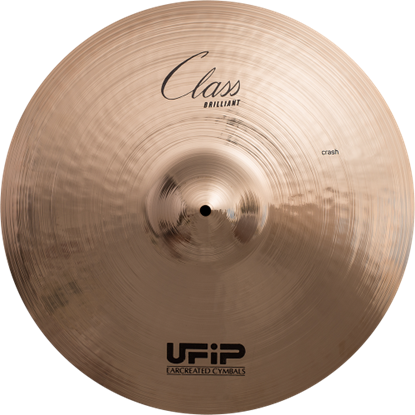 UFIP CS-17B Class Series 17inch Brilliant Crash Cymbal
