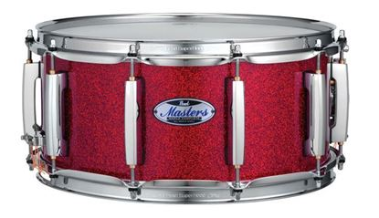 Pearl MCT1465 Masters Complete 14x6.5inch Snare Drum in Vermillion Red