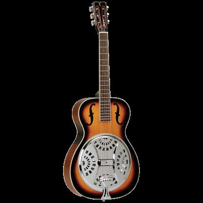 Tanglewood TWD1 Resonator Guitar - Vintage Sunburst Gloss - Front