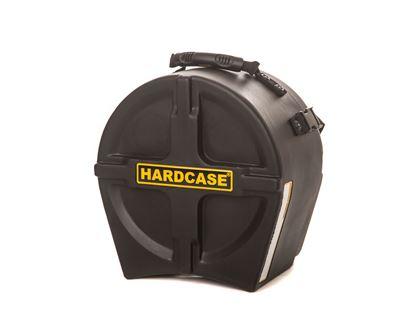 Hardcase HN10T 10 Inch Tom Drum Case Black - Front