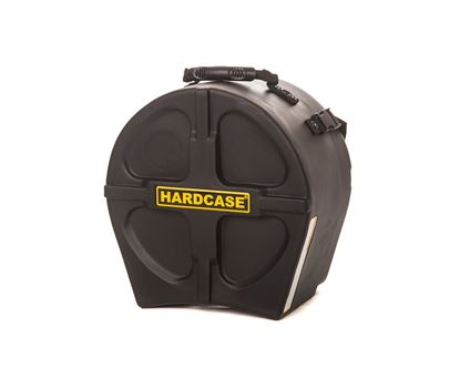 Hardcase HN12T 12 Inch Tom Drum Case Black - Front