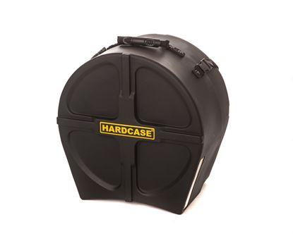 Hardcase HN15T 15 Inch Tom Drum Case Black - Front