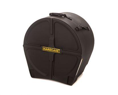 Hardcase HN18FT 18 Inch Floor Tom Drum Case Black - Front