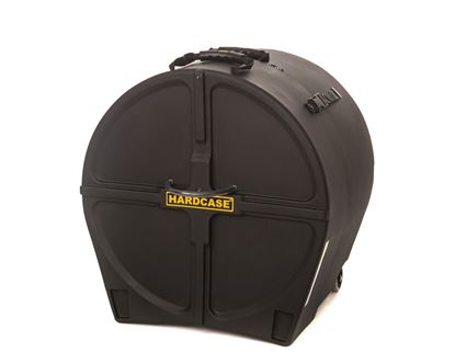 Hardcase HN20B 20 Inch Bass Drum Case Black