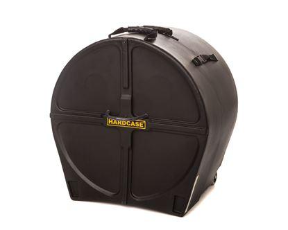 Hardcase HN22B 22 Inch Bass Drum Case Black