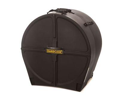 Hardcase HN24B 24 Inch Bass Drum Case Black
