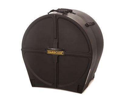 Hardcase HN26B 26 Inch Bass Drum Case Black