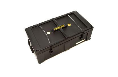 Hardcase HN36W 36 Inch Wide Hardware Case with Wheels Black