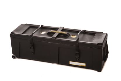 Hardcase HN40W 40 Inch Hardware Case with Wheels Black