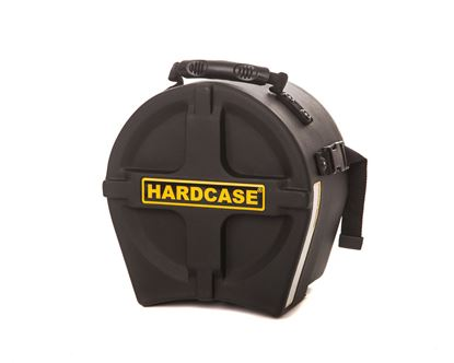 Hardcase HN8T 8 Inch Tom Drum Case Black - Front